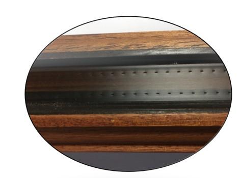 Joint de vitrages silicone sous pression
